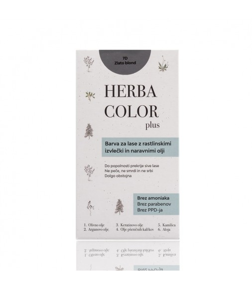Herba Color - 7D zlatá blond