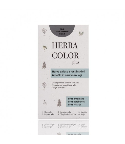 Herba Color - 7DR zlato-medená blond